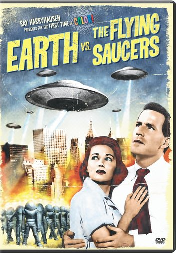 EARTH VS THE FLYING SAUCERS BY MARLOWE,HUGH (DVD)